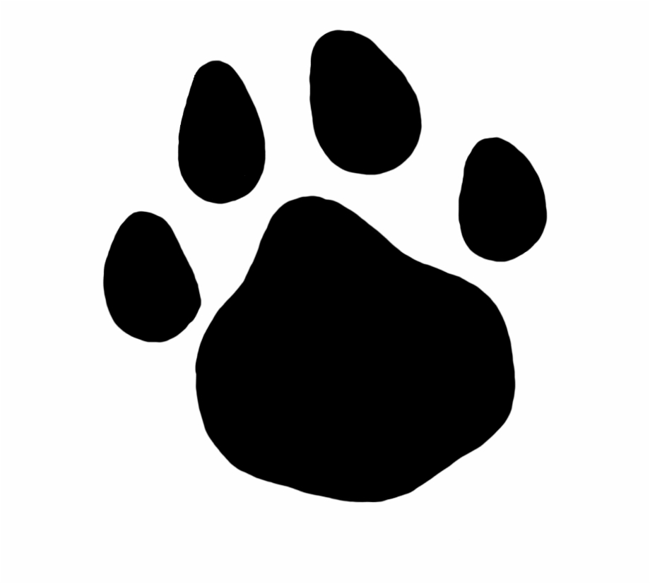 Cat pawprint black clipart clipart royalty free library Com Cat Paw Print Pluspng - Cat Paw Print Png Free PNG Images ... clipart royalty free library