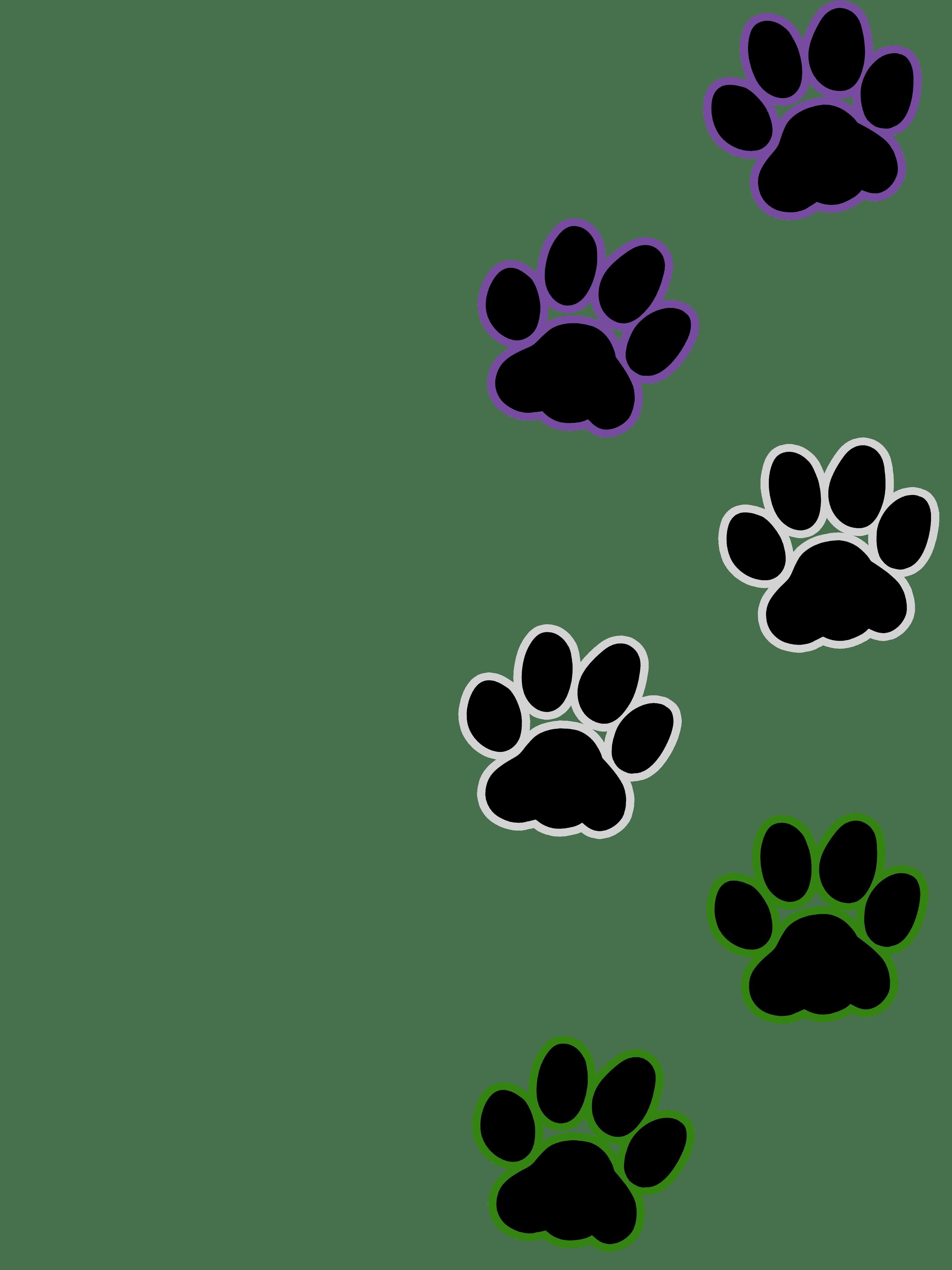 Cat pawprint clipart clipart transparent download Cat paw print - Genderqueer | Artworktee clipart transparent download