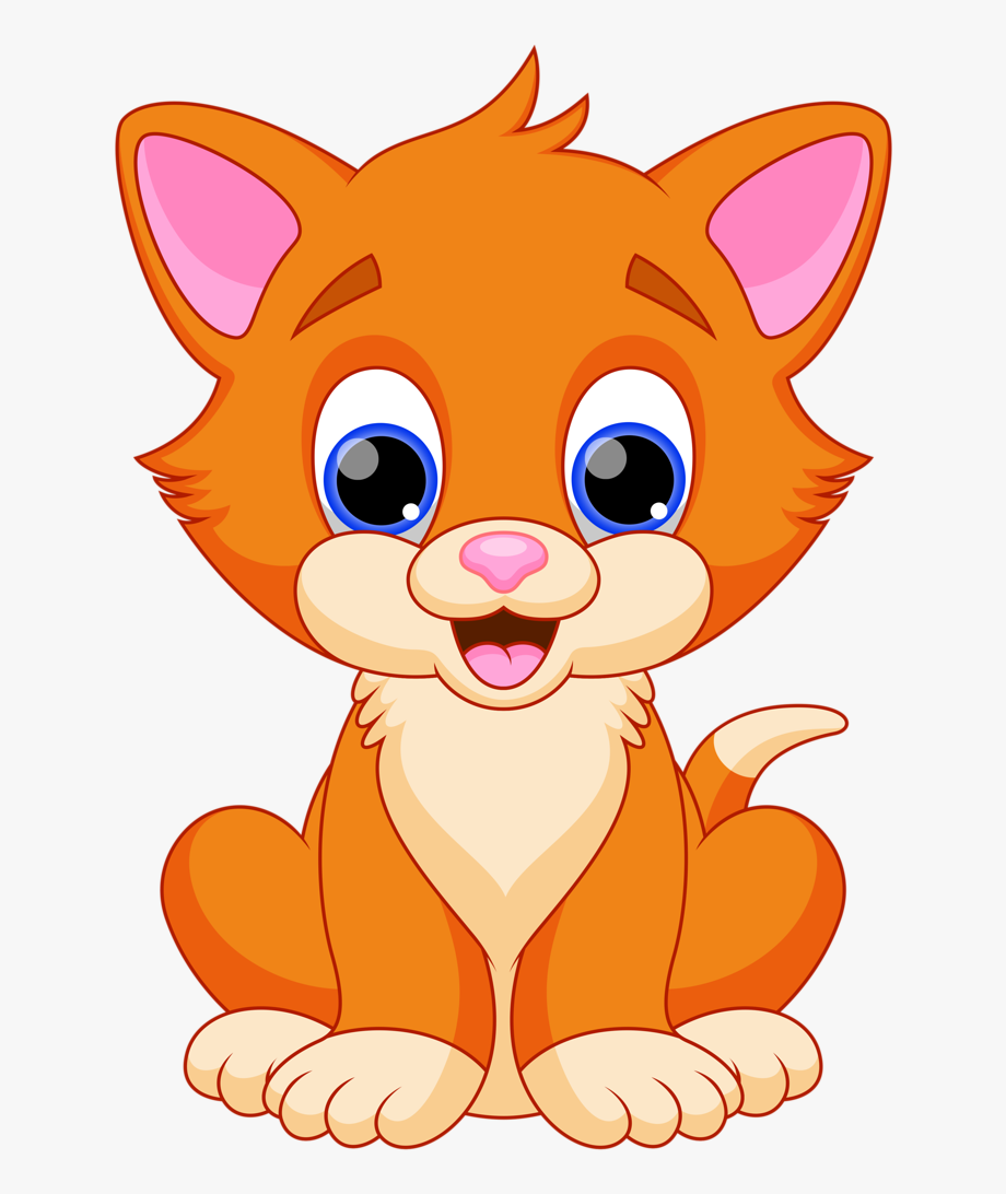 Cat pics clipart png royalty free library Clipart Baby Cat Free Vector Design Expanding My - Cat Clipart #375 ... png royalty free library