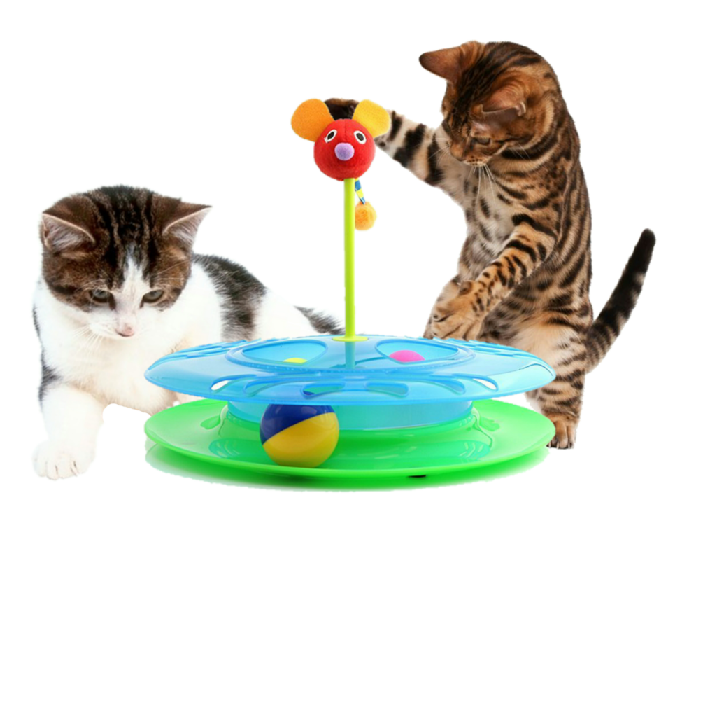 Cat playing with ball clipart clip library stock Cheese Chase Track Ball Cat Toy - Mr. Peanut's clip library stock