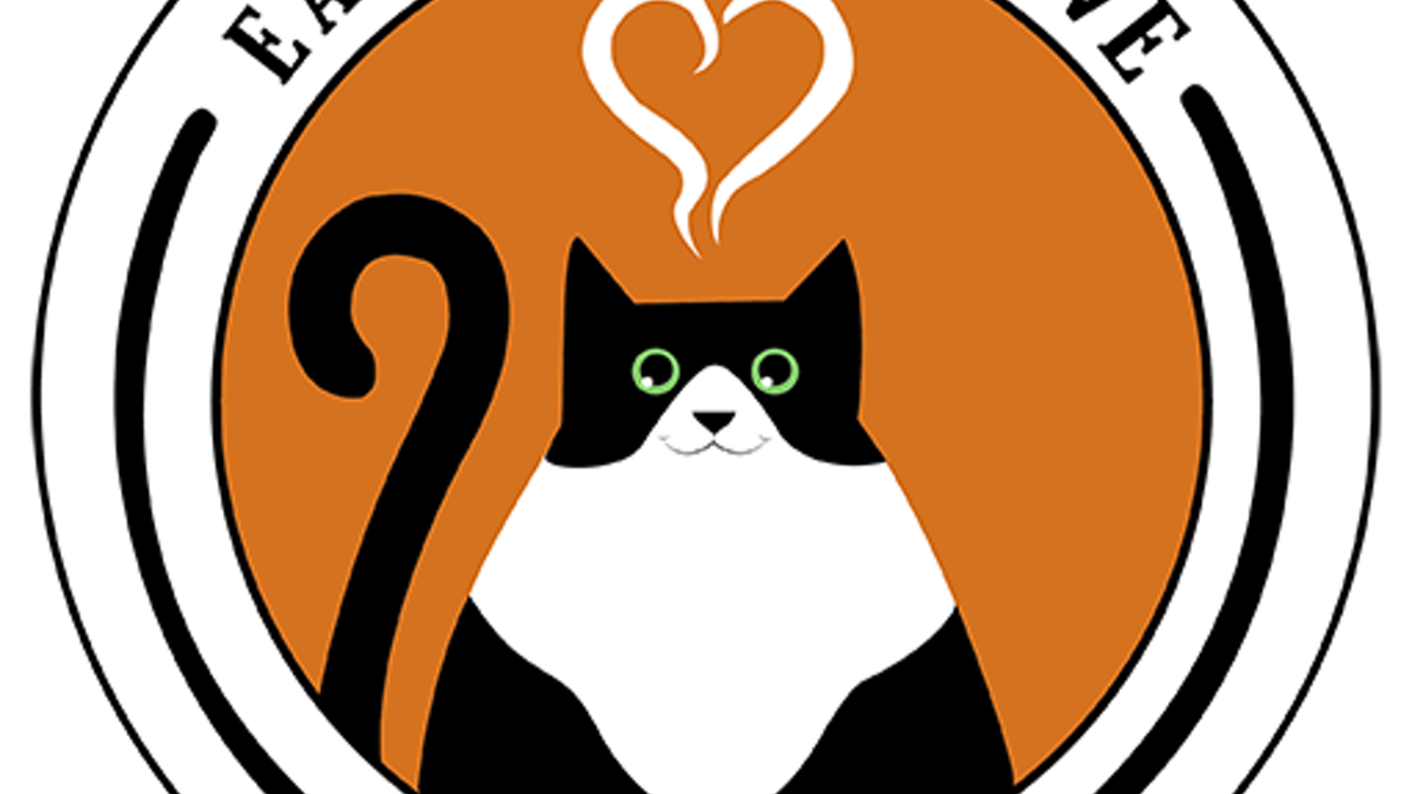 Cat purring clipart image stock Eat∙Purr∙Love (Central OH's first & one-of-a-kind) Cat Cafe! by ... image stock