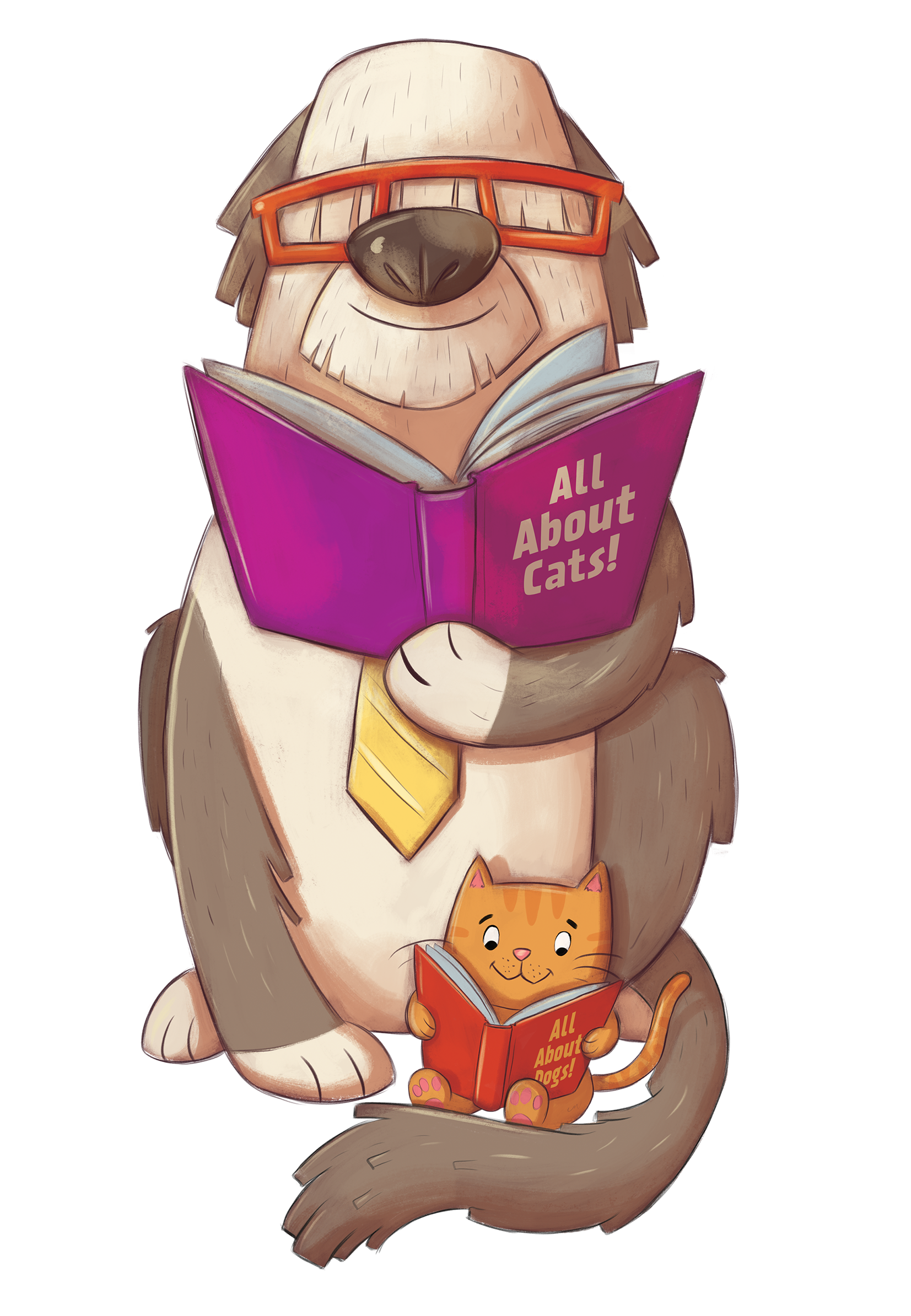 Clipart cat reading a book svg library library 28+ Collection of Scholastic Book Fair Clipart 2018 | High quality ... svg library library