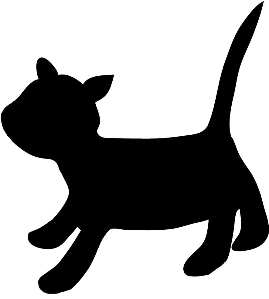 Cat running clipart clip art freeuse download Running Cat Silhouette at GetDrawings.com | Free for personal use ... clip art freeuse download