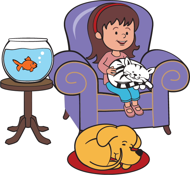 Dog sit clipart image library Pet Sitting & Dog Walking - Little Friends image library