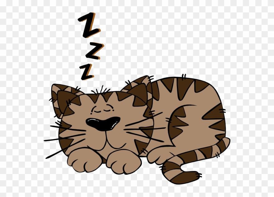 Cartoon Cat Sleeping On A Pillow Clipart (#3291969) - PinClipart banner royalty free