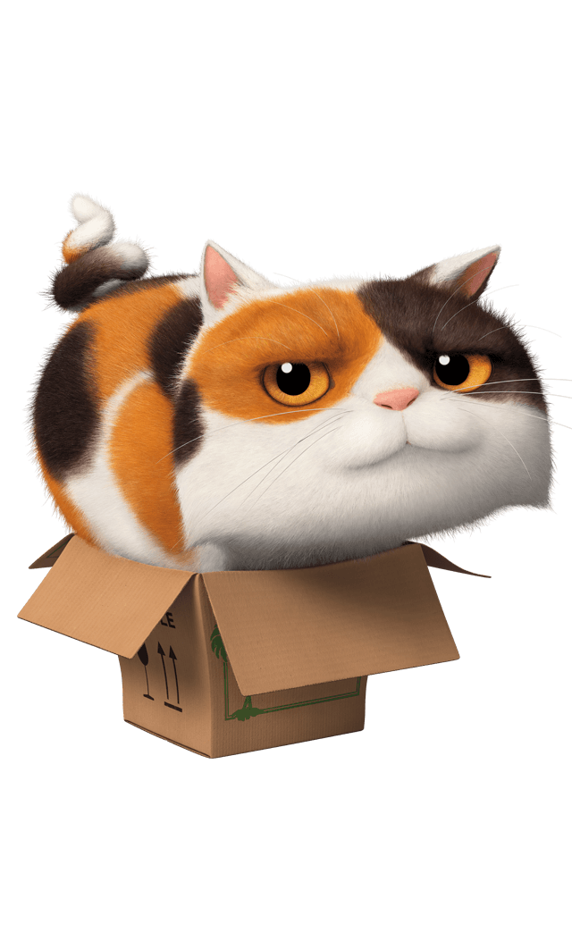 Tabby calico cat mix clipart image royalty free library DreamWorks HOME | Bring the Party Home on Blu-ray, DVD & Digital HD ... image royalty free library