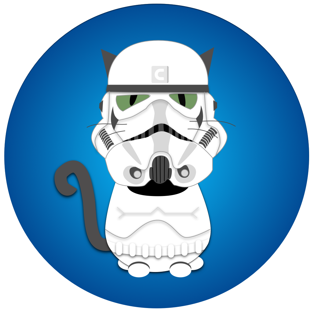Cat storm trooper clipart picture transparent stock Cats by Contrast Security picture transparent stock