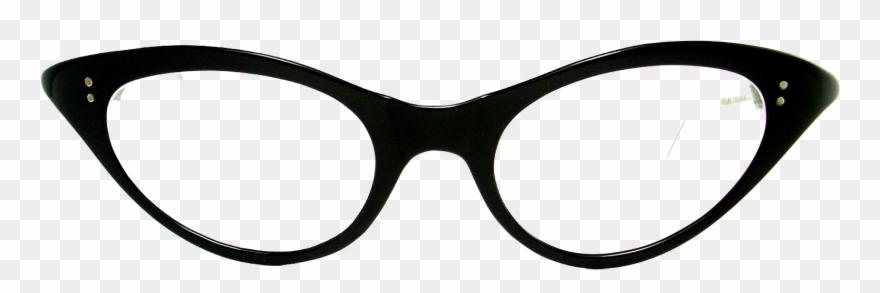 Cat sunglasses clipart clipart black and white Sunglasses - Cat Eye Glasses Png Clipart (#1443911) - PinClipart clipart black and white