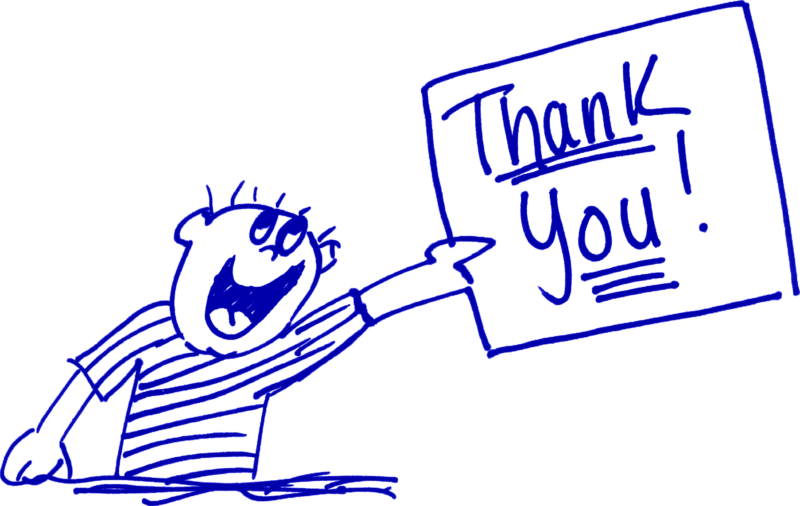 Cat thank you clipart png transparent Free Thank You Clipart Black And White Images 【2018】 png transparent