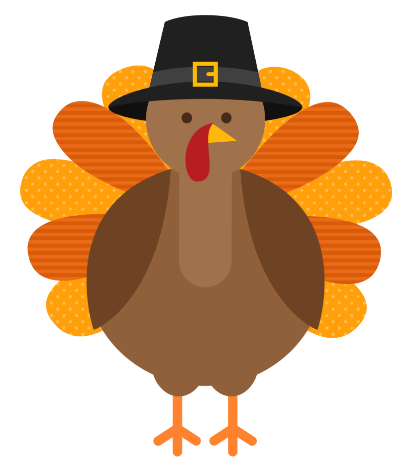 Clipart thanksgiving turkey feet svg royalty free Thanksgiving Free Clipart Image Group (66+) svg royalty free