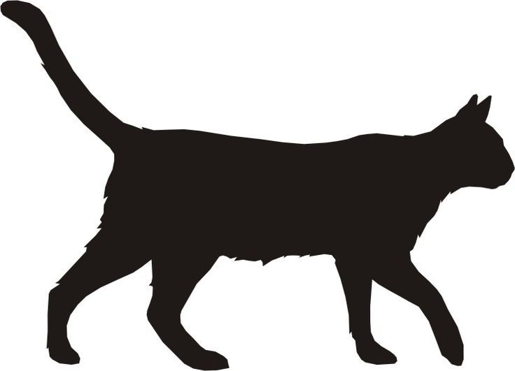 Cat walk clipart jpg transparent library 1000+ ideas about Cat Silhouette Tattoos on Pinterest | Silhouette ... jpg transparent library