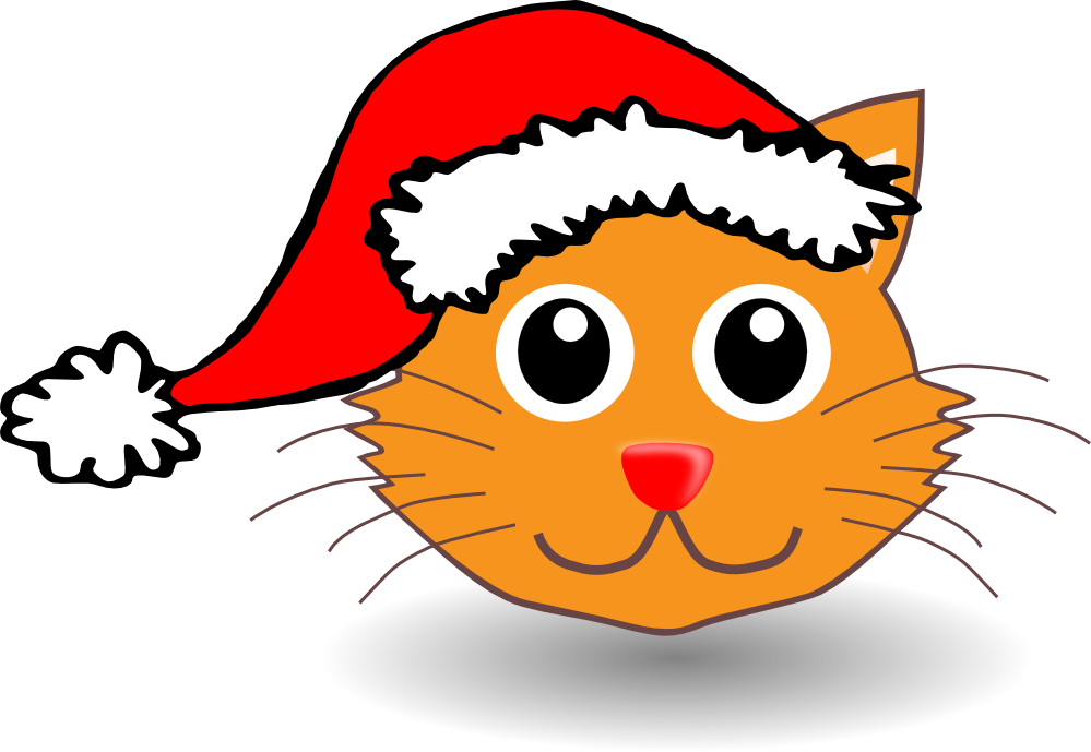 Confused cat clipart clipart free stock Santa Hat Clipart at GetDrawings.com | Free for personal use Santa ... clipart free stock