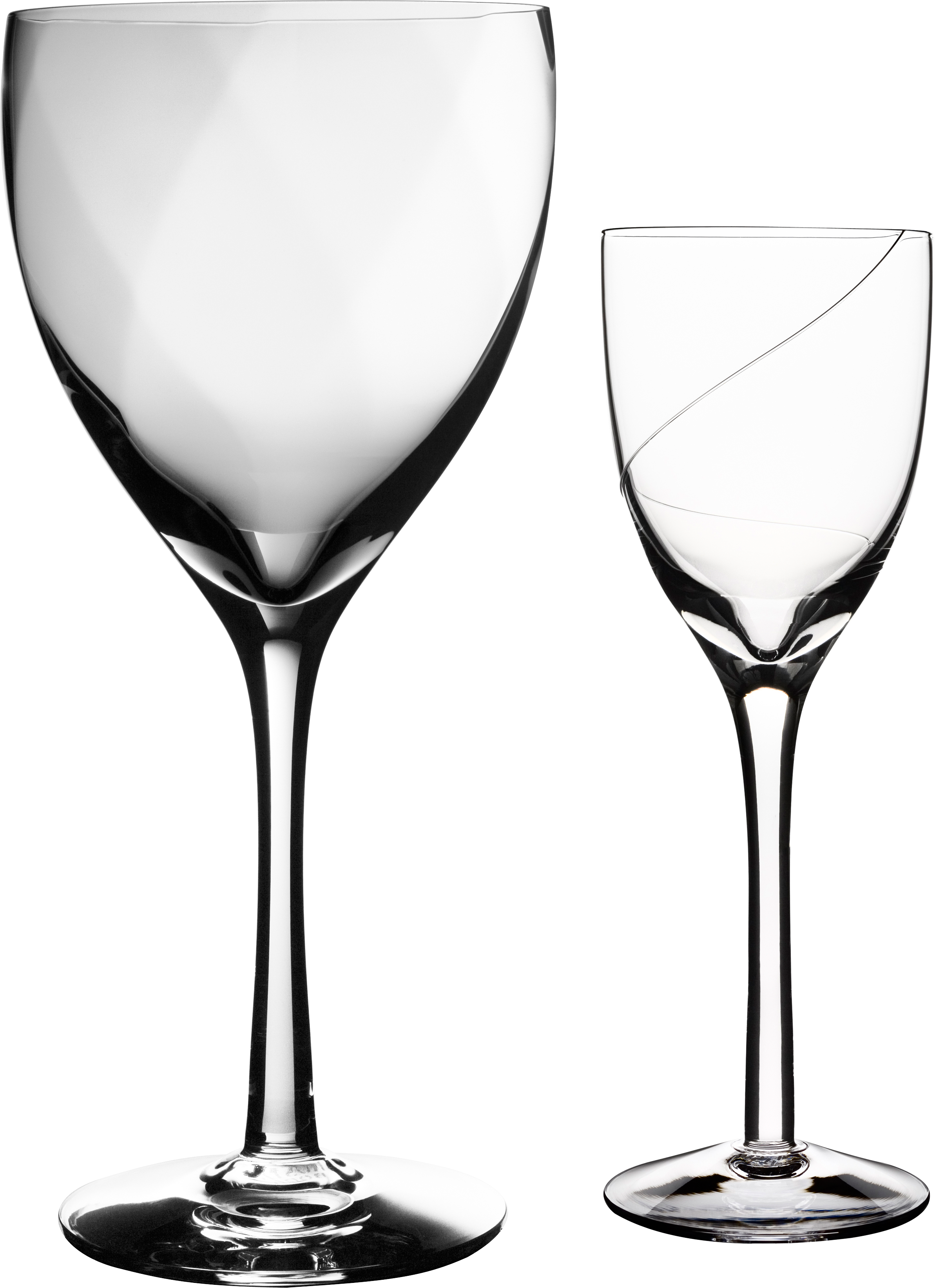 Cat wine glass clipart jpg black and white stock Empty Wine Glass Four   Isolated Stock Photo by noBACKS.com jpg black and white stock