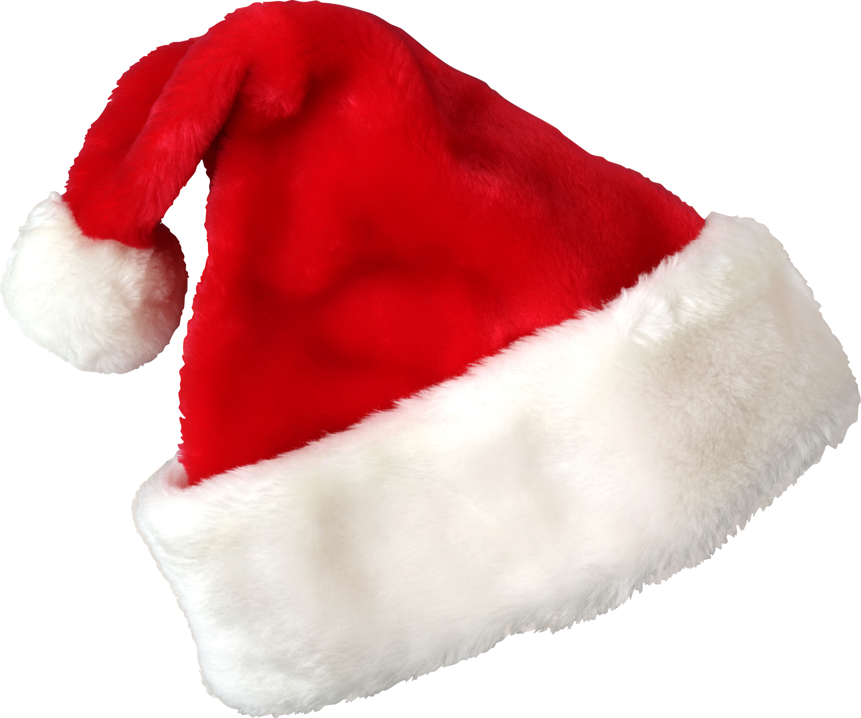 Cat with santa hat clipart png transparent Christmas Santa Hat One | Isolated Stock Photo by noBACKS.com png transparent