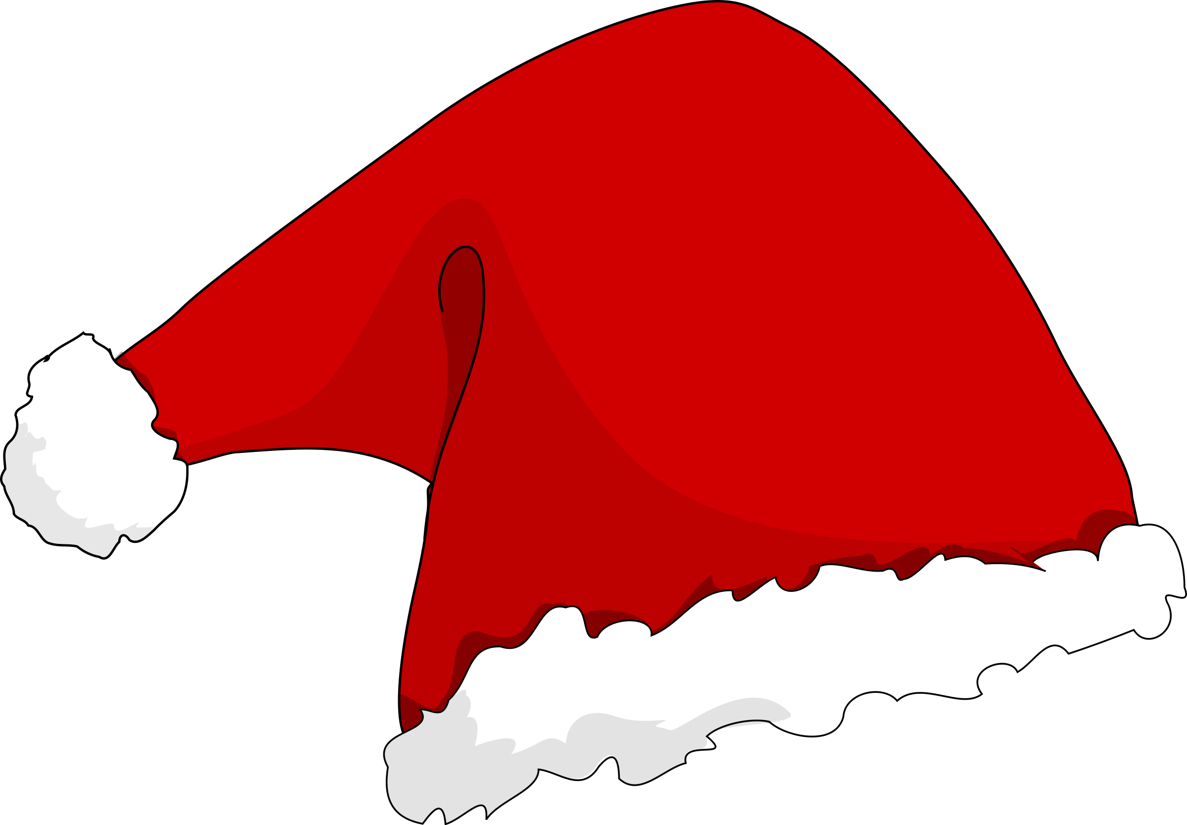 Dog with santa hat clipart. At getdrawings com free