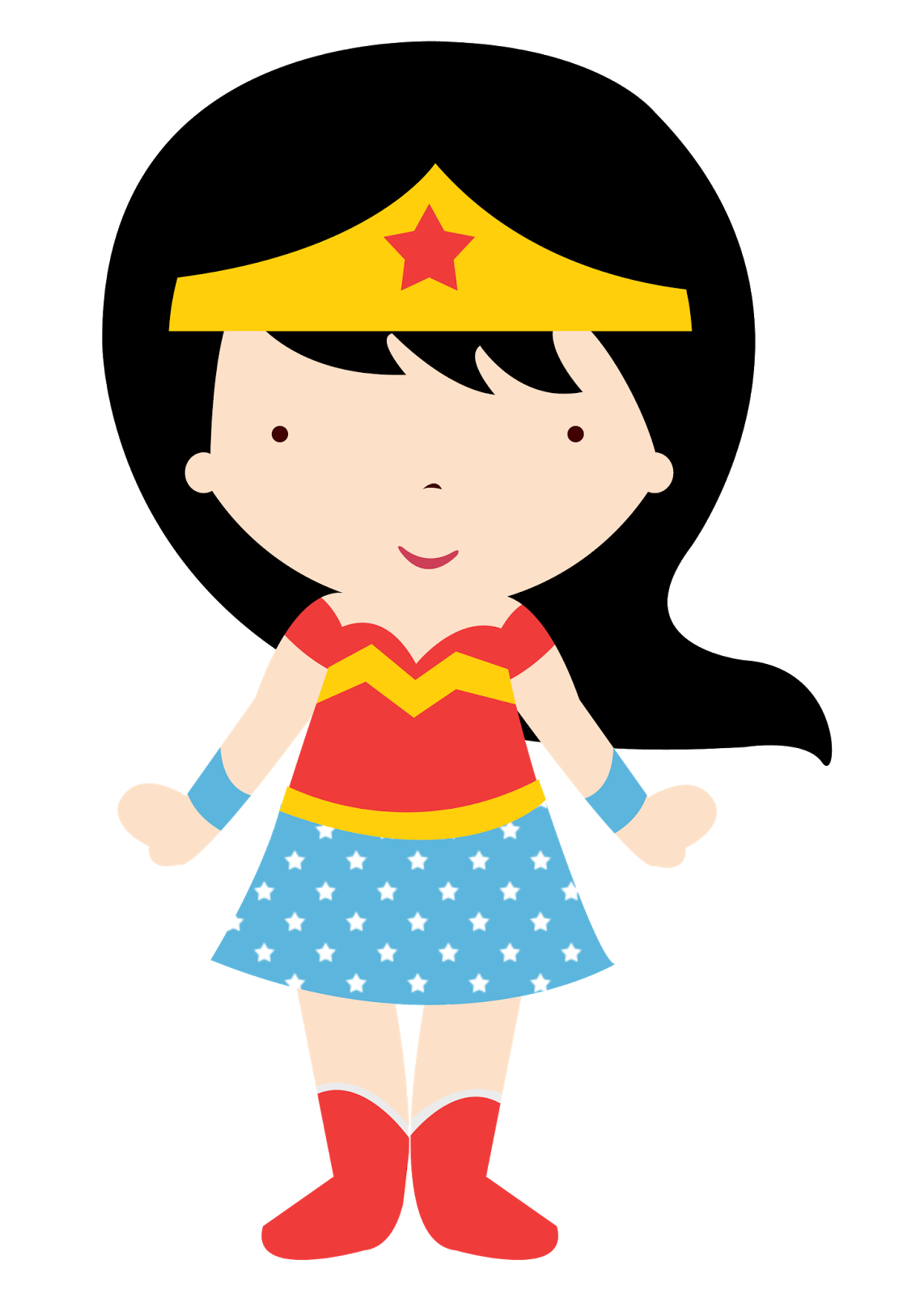 Cat woman mask clipart image transparent stock Wonder Woman Baby in Different Styles Clipart. - Oh My Fiesta! for Geeks image transparent stock
