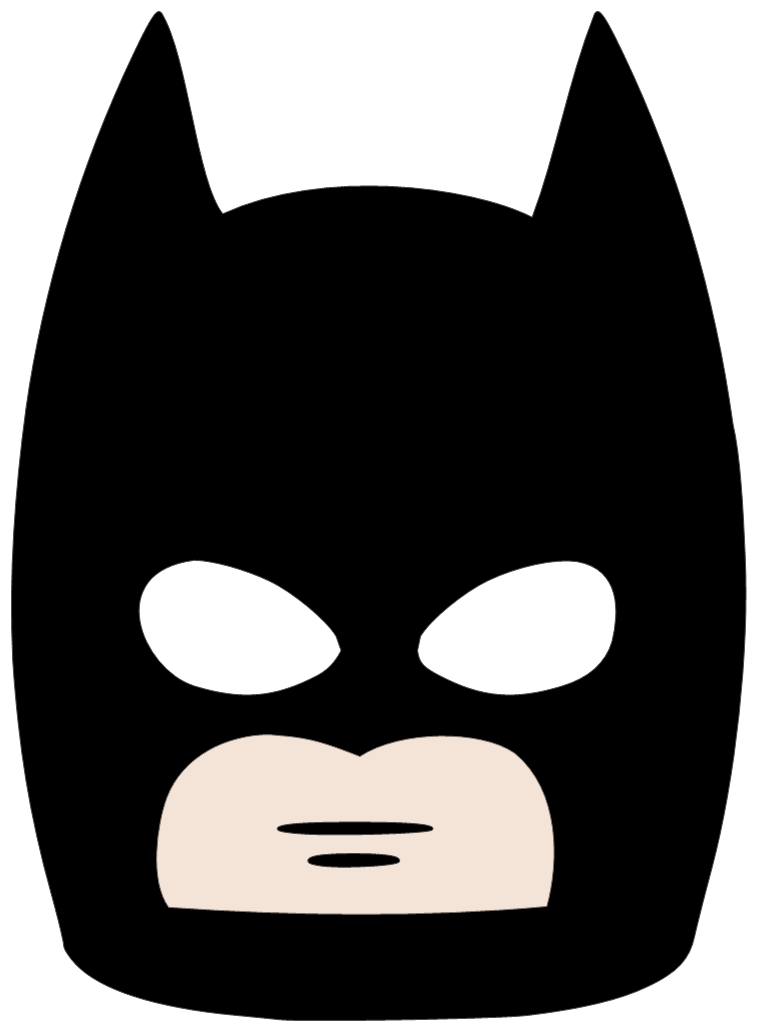 Cat woman mask clipart clip art black and white stock 28+ Collection of Batman Clipart Mask | High quality, free cliparts ... clip art black and white stock