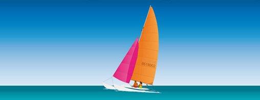 Free Catamaran Sailing Clipart and Vector Graphics - Clipart.me png download