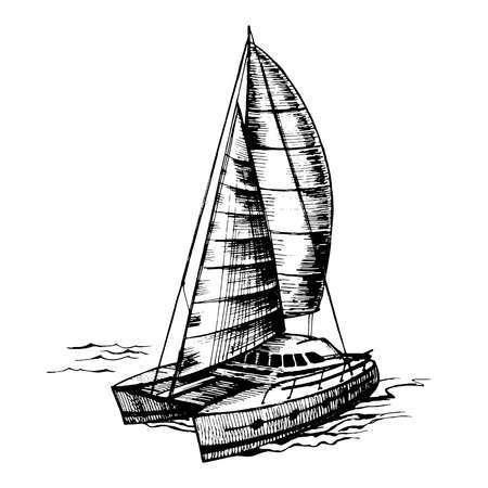 Catamaran clipart 7 » Clipart Portal jpg transparent
