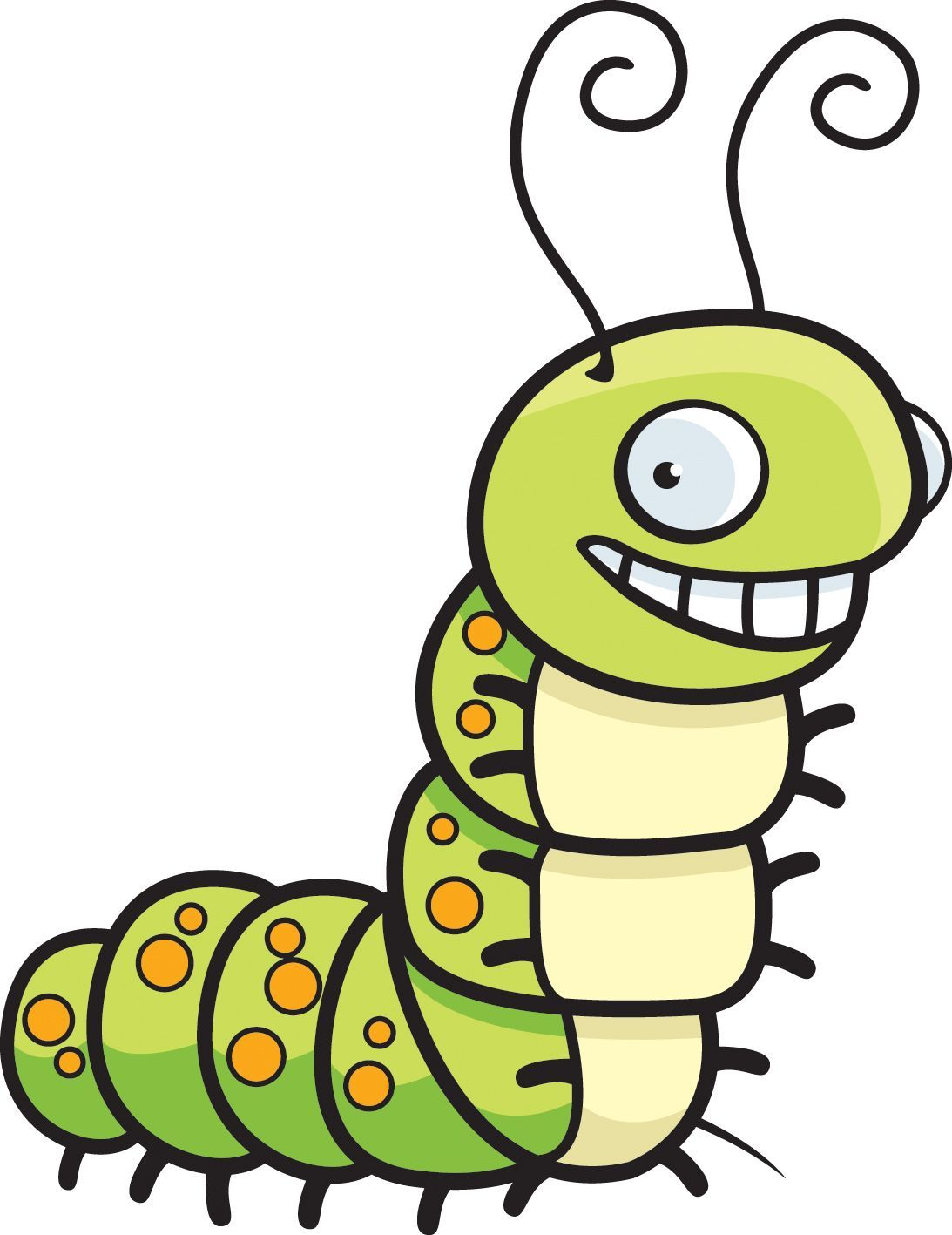 Caterpillar and butterfly clipart 7 » Clipart Portal png free