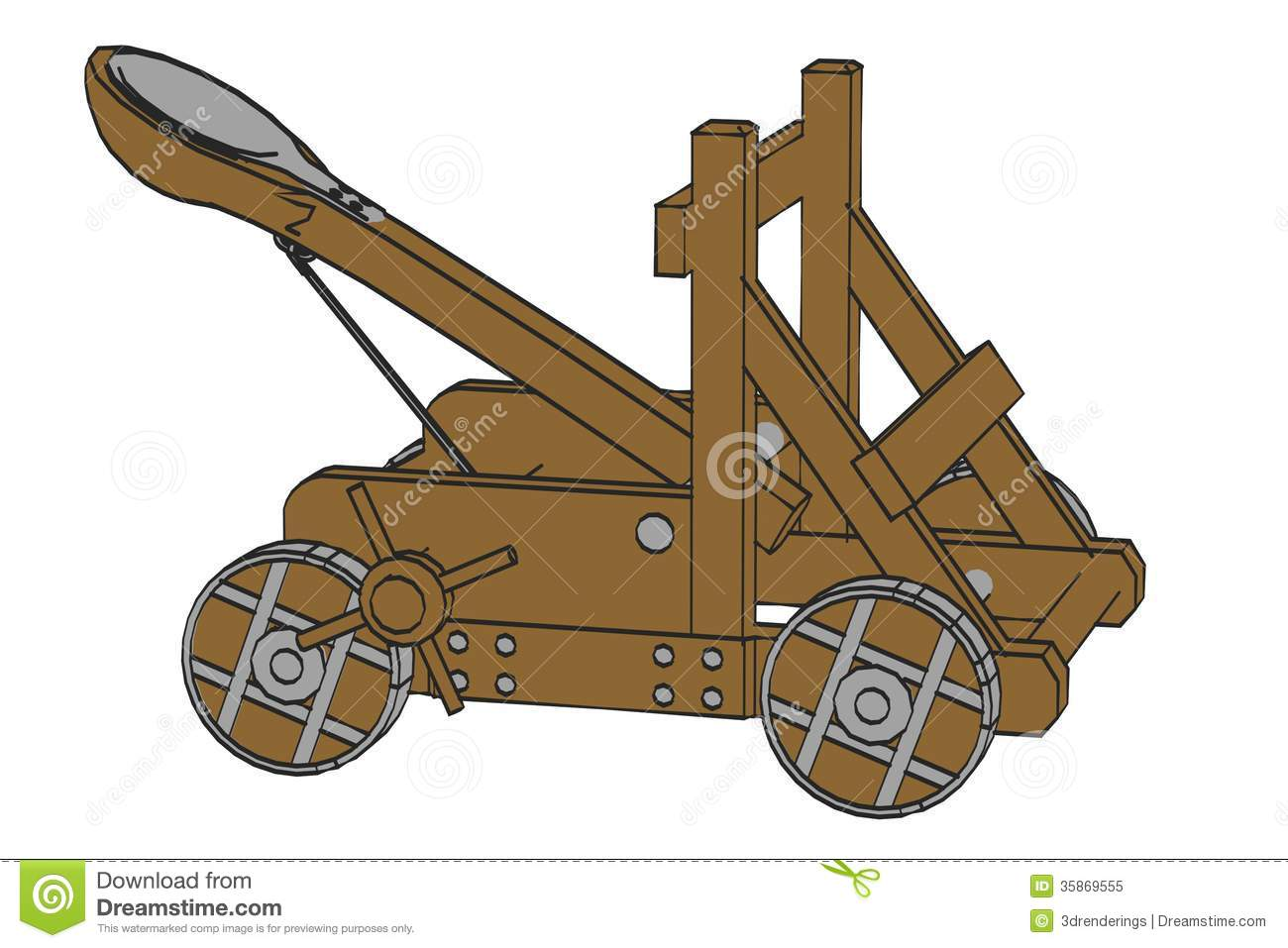 Catapult Clipart Group with 20+ items graphic library download