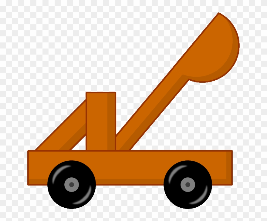 Catapult - Bfdi Catapult Clipart (#1085862) - PinClipart freeuse stock