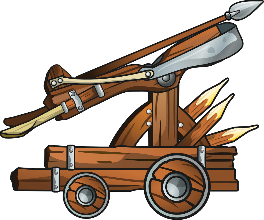 Ballista Catapult Cliparts - Cliparts Zone clipart library library