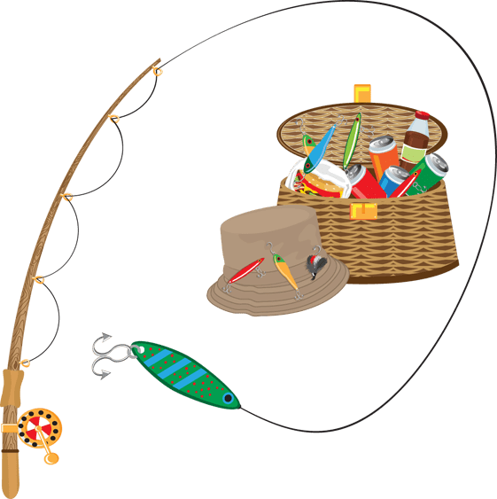 Free fishing lessons in. Fly fish clipart