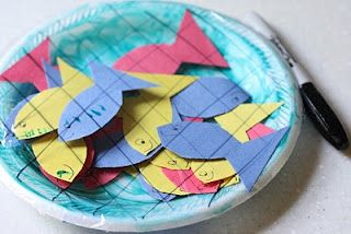 A Net Full of Fish | Bible Studies for Kids | Christian crafts ... library