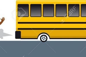 Catch the school bus clipart 1 » Clipart Portal svg black and white library