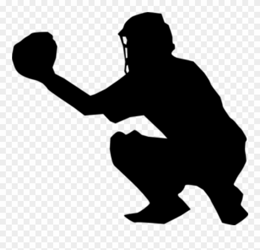 Clip Art Royalty Free Library Catcher Clipart - Sports Background ... clip art