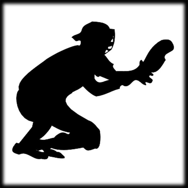 Baseball Catcher Cliparts - Cliparts Zone clip freeuse stock