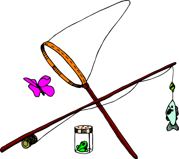 Catching a fish clipart banner black and white stock Butterfly Catching Clip Art at Clker.com - vector clip art online ... banner black and white stock