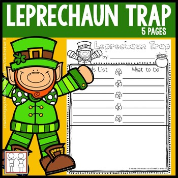Catching a leprechaun clipart black and white svg royalty free library Leprechaun Trap svg royalty free library