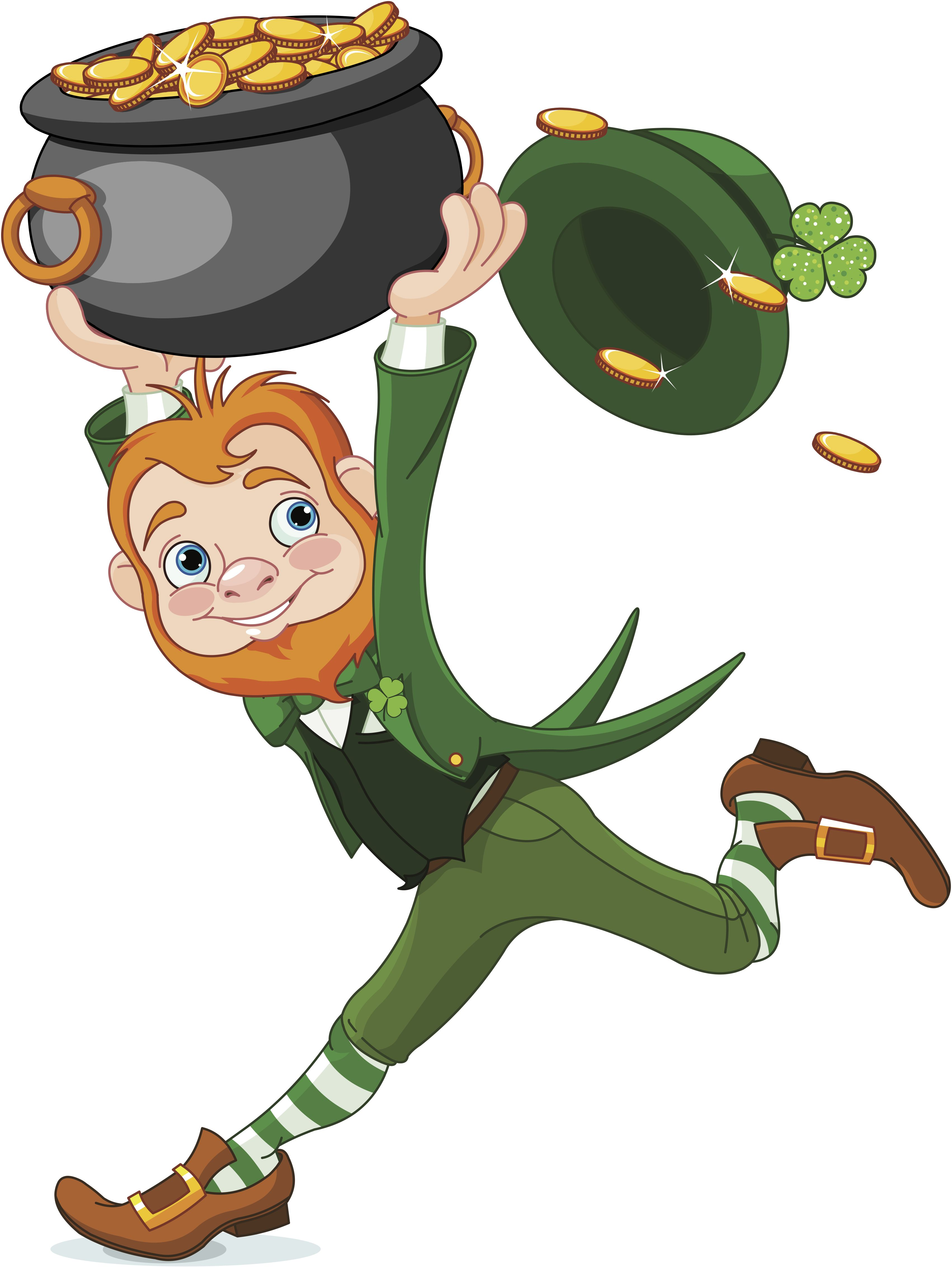 Catching Leprechauns – Kindergarten Fun for St. Patrick\'s Day | Evan ... clip black and white download
