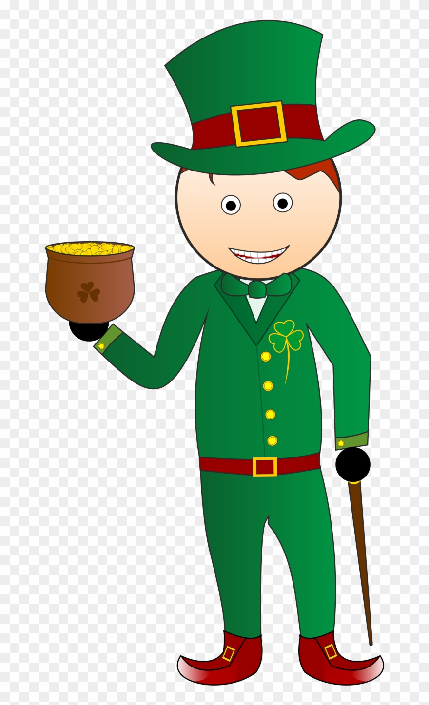 Catching a leprechaun clipart black and white clipart royalty free stock What If You Catch A Leprechaun - Saint Patrick\'s Day Clipart - Full ... clipart royalty free stock
