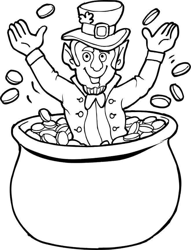 Catching a leprechaun clipart black and white png Leprechaun Images Pictures | Free download best Leprechaun Images ... png
