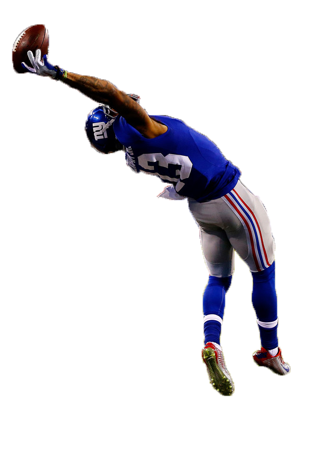 American Football Player Catching A Ball PNG Image - PurePNG | Free ... clip free