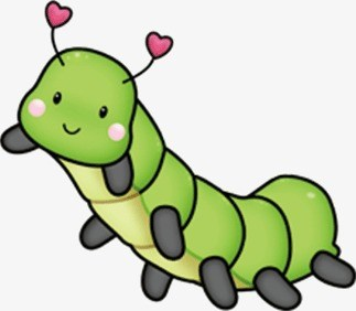 Catepiller clipart graphic freeuse stock Green caterpillar clipart 6 » Clipart Portal graphic freeuse stock