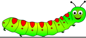 Caterfillar free clipart free library Free Animated Caterpillar Clipart | Free Images at Clker.com ... free library