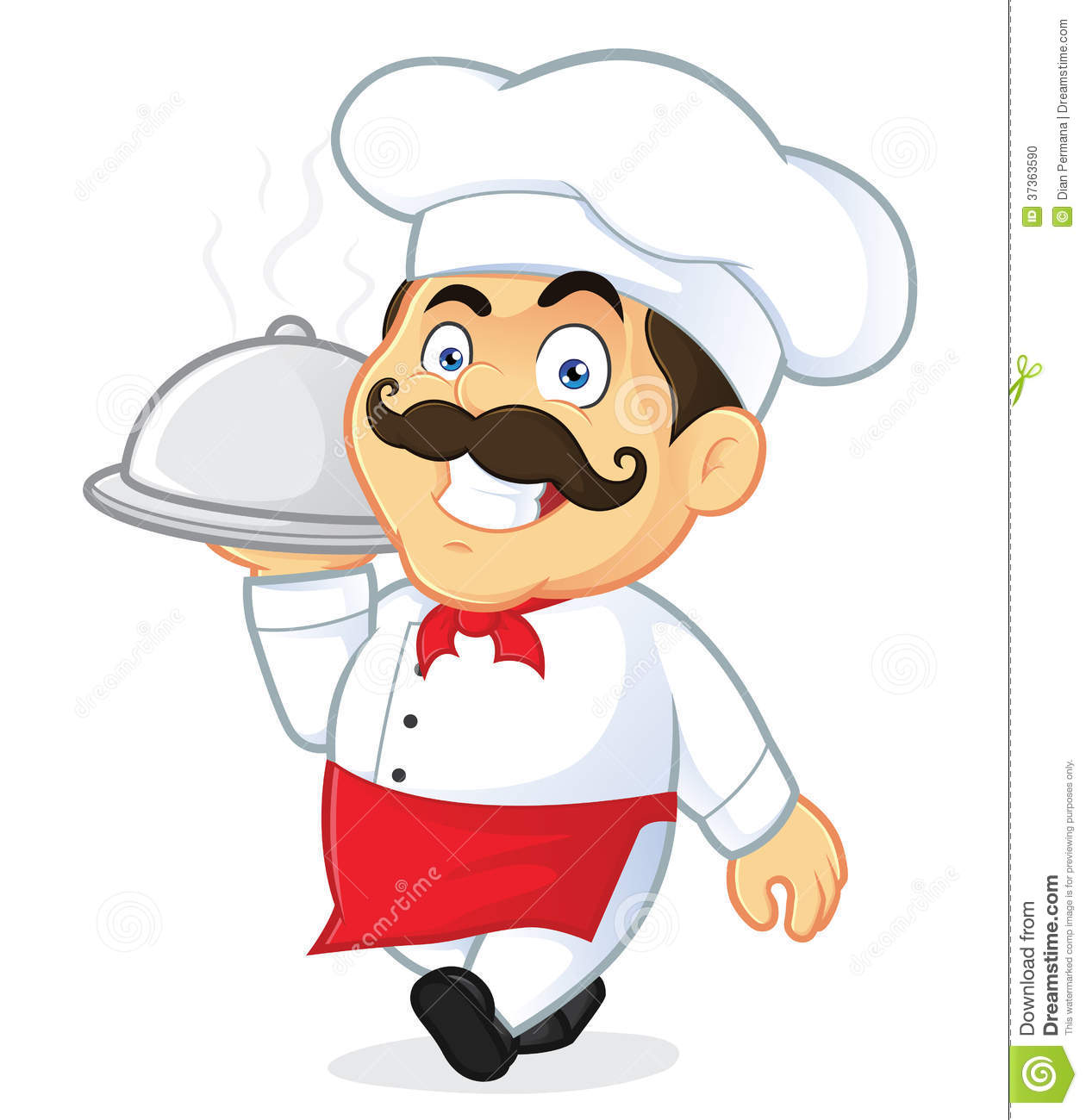 Catering chef clipart. Clipartfest file type