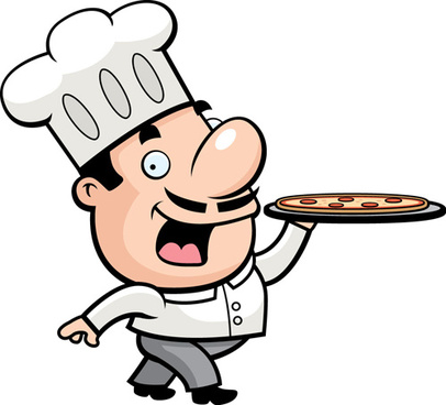 Cdr free vector download. Catering chef clipart