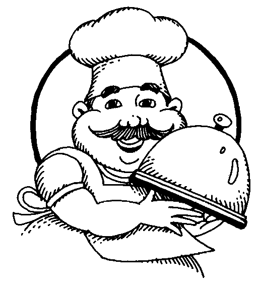 Catering chef clipart vector black and white library Clipart Chef & Chef Clip Art Images - ClipartALL.com vector black and white library