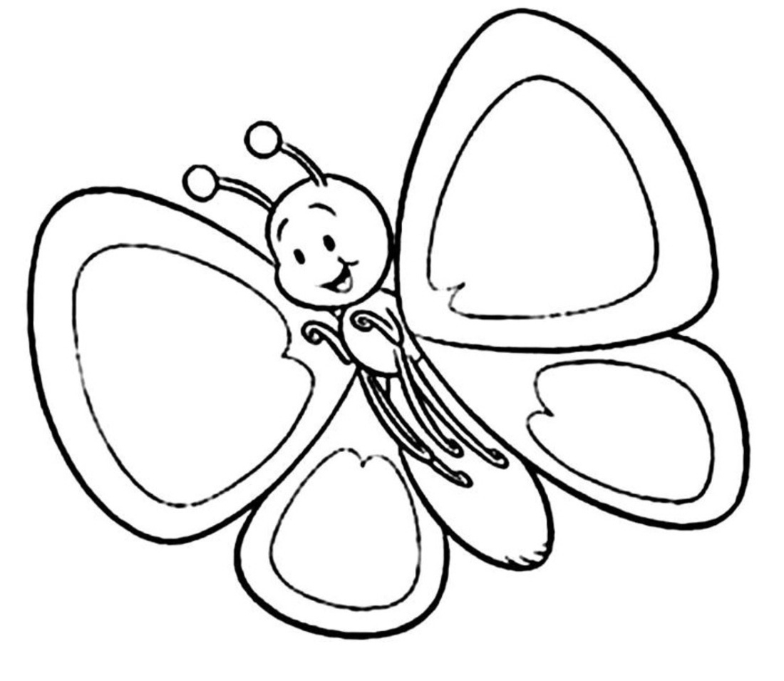 Butterflies Clipart Black And White | Free download best Butterflies ... vector free library