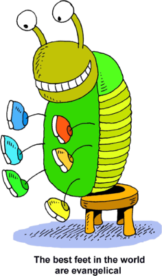 Caterpillar with shoes clipart clip free Image: Bug With Tennis Shoes - The best feet in the world are ... clip free