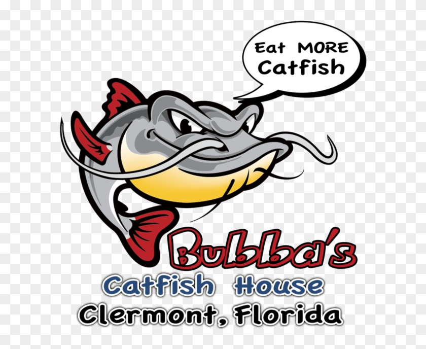 Catfish logo clipart clip free stock Bubba\'s Catfish House Logo - Catfish Clipart, HD Png Download ... clip free stock