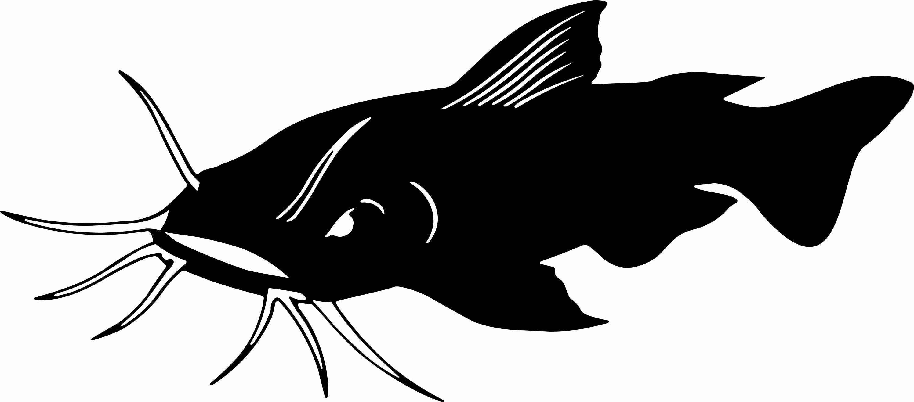 Catfish logo clipart image free Pin by laura rose on prints | Fish clipart, Fish stencil, Fish graphic image free