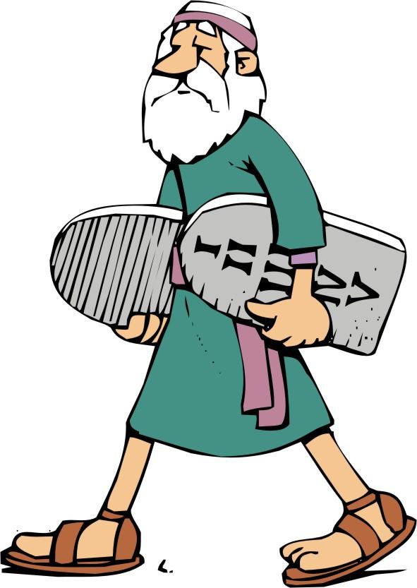 Catholic 10 commandments clipart vector royalty free Clipart - Moses With the Ten Commandments 1 - Clip Art Library vector royalty free