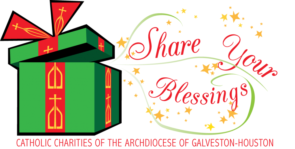 Christmas blessings clipart clip freeuse stock ShareYour Blessings Christmas Campaign | Catholic Charities of the ... clip freeuse stock