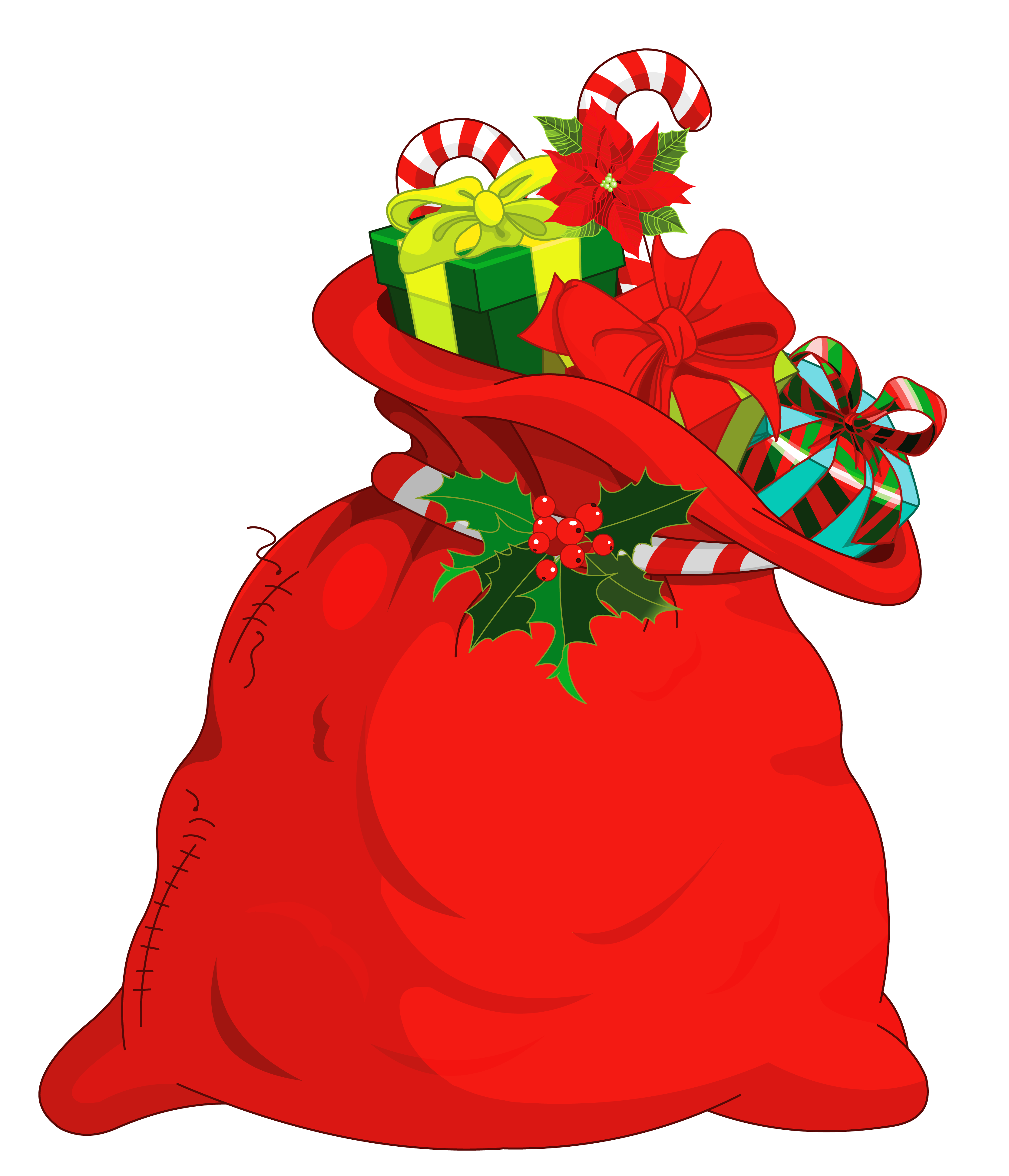 Christmas church clipart svg royalty free Christmas Santa Bag PNG Picture   Gallery Yopriceville - High ... svg royalty free
